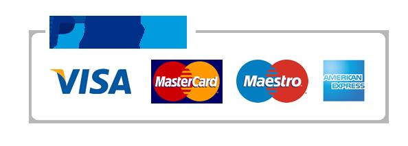 Paypal - Visa - Mastercard - Postepay